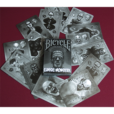 Jeu de cartes Classic Monsters