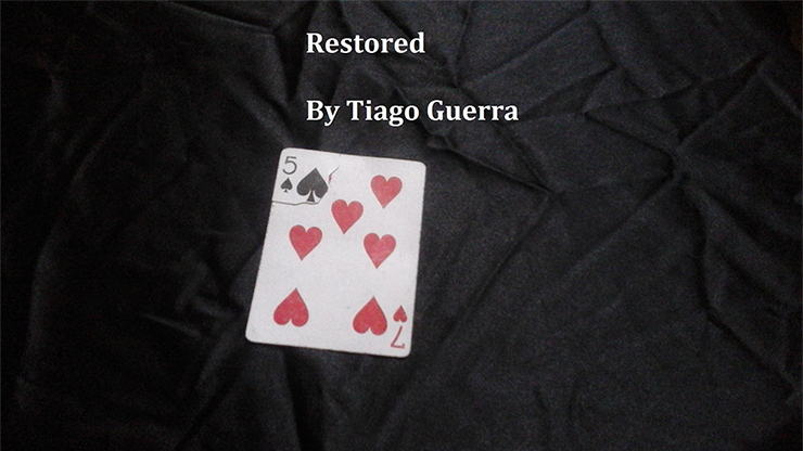 Restored by Tiago Guerra video DOWNLOAD en anglais