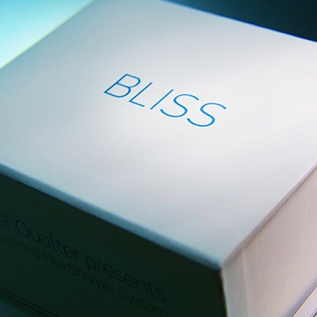 Bliss - Noel QUALTER ( billet dans le sharpie )
