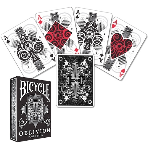 Jeu Bicycle Oblivion Blanc