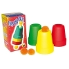 Cups and Balls plastique multicolor