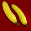 Banane en mousse - Alexander MAY ( lot de 2 )