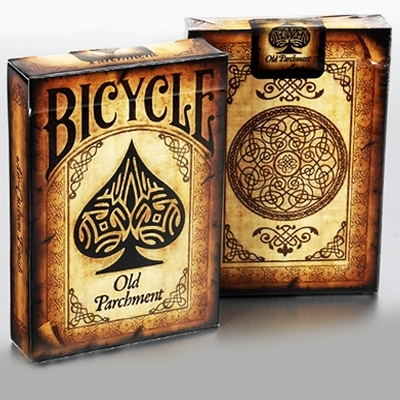 Jeu Bicycle - Old Parchment