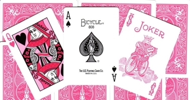 "Jeu Bicycle Poker ""Ribbon Edition"""