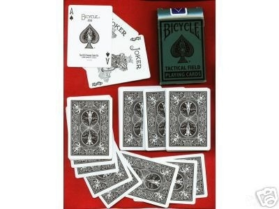 Bicycle Tactical Field Poker (Armée US)