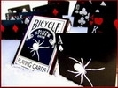 Jeu Bicycle Black Spider