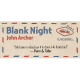 Blank Night (bleu) - John Archer