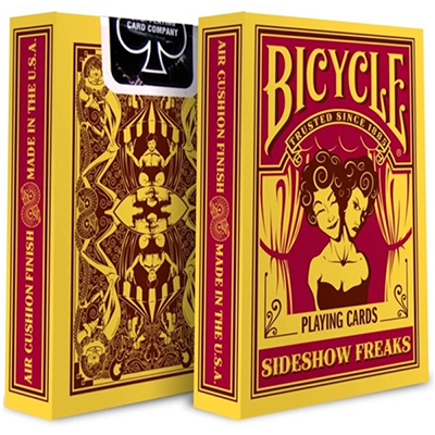 Jeu Bicycle Sideshow Freaks
