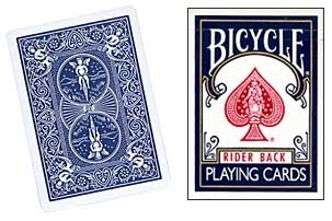 -Jeu de Cartes Bicycle Format Poker RIDER BACK