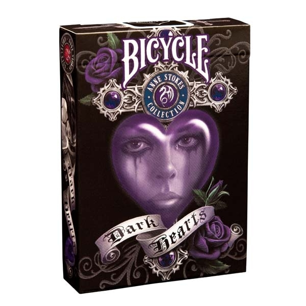 Bicycle Dark Hearts - Anne Stokes collection