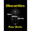 Obscurities by Peter Duffie eBook