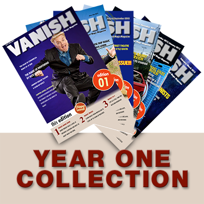 VANISH Magazine by Paul Romhany (Year 1) eBook