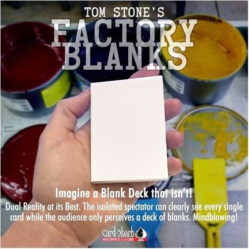 Factory blanks - Tom STONE
