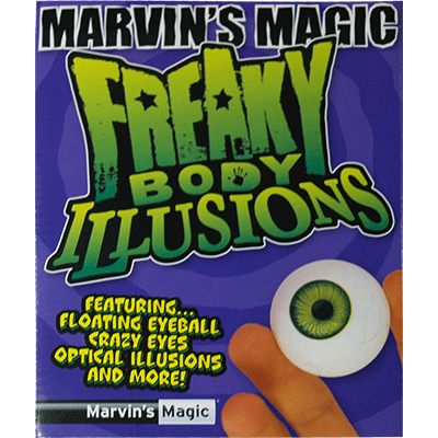 Freaky body  parts eye by Marvin&#39s Magic