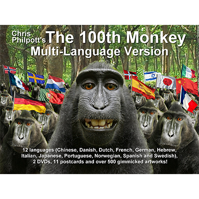 100th Monkey Multi-Language (2 DVD Set & Gimmicks) - Chris Philpot