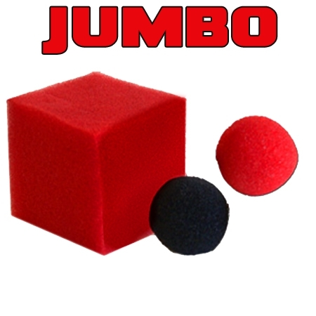 Color changing ball to square JUMBO