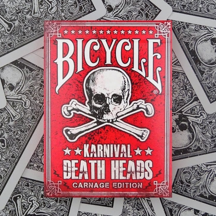 Bicycle KARNIVAL - DEATH HEADS