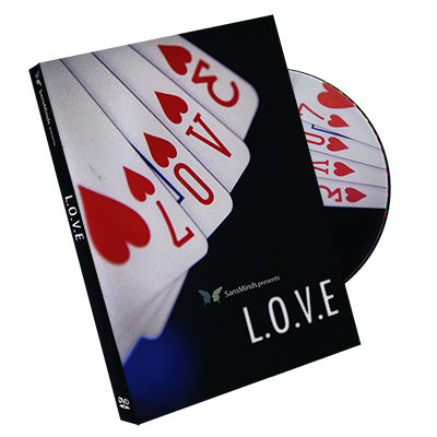 L.O.V.E DVD and Gimmick par SansMinds