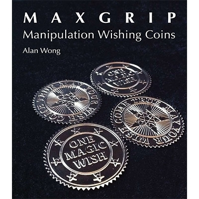 Max Grip Manipulation Wishing Coins de Alan Wong (argent)