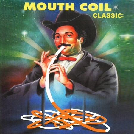 Mouth Coil 40 Ft Orange et Blanc ( par 10 )