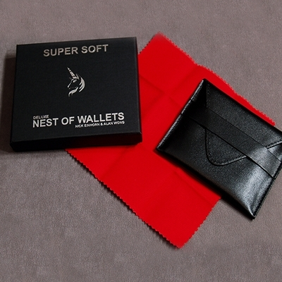 Nest of wallets  (super soft) - Alan WONG