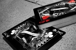 Jeu Bicycle Arcane Noir (Format Poker)