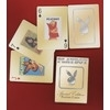 Jeu de Cartes Bicycle Playboy Or