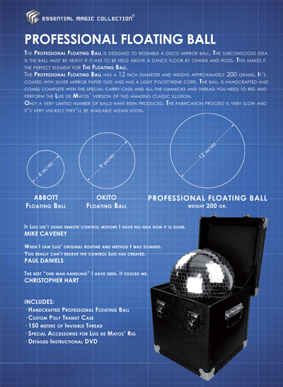 Professional Floating Ball by Luis de Matos