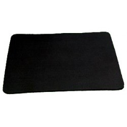 Tapis de close-up large NOIR  - Goshman