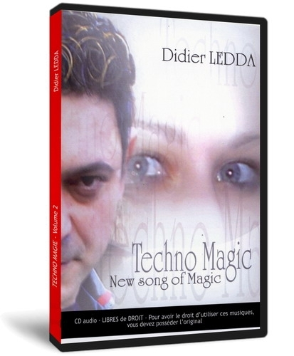 CD Techno Magic Vol. 2 (Didier Ledda)