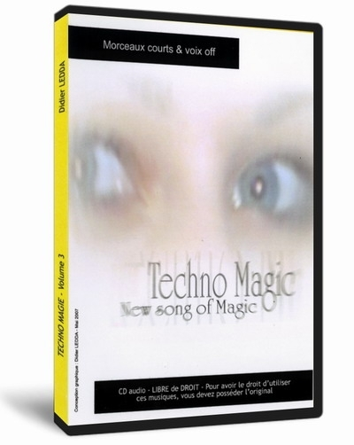 "Cd Techno Magic Vol. 3 ""Song of Magic LEDDA"