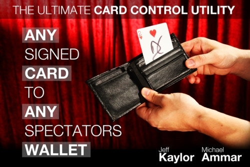 Any Card to Any Spectator Wallet - NOIR & BLANC